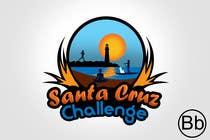 Entry # 105 for Illustration Surfer Sunset Santa Cruz Dog LOGO contest by