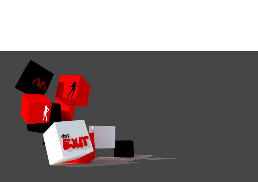 Kilpailutyö #                                        55                                      kilpailussa                                         Logo Design for dntexit or dnexit.com is a photo-entertainment website