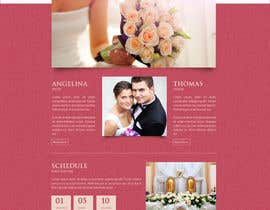 vivekdaneapen tarafından Design for wedding website için no 8
