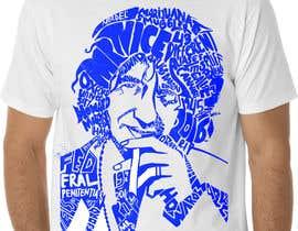 Nro 9 kilpailuun Illustrate Typography portrait for t-shirt käyttäjältä nugrahanugraha