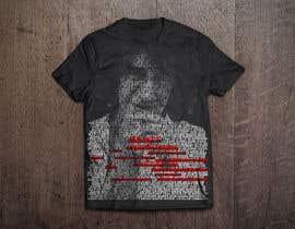 Nro 7 kilpailuun Illustrate Typography portrait for t-shirt käyttäjältä web6021