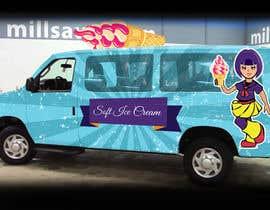 Nro 23 kilpailuun Ice cream van design käyttäjältä RaihanMuhammad