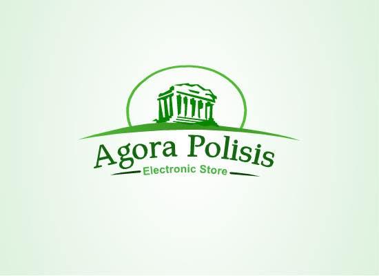 #20 for Design a Logo for the name agorapolisis by lNTERNET