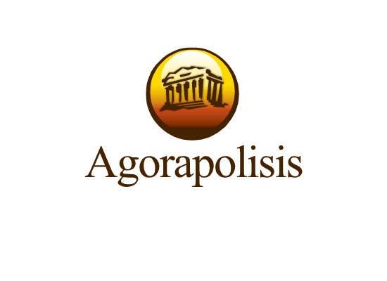 #39 for Design a Logo for the name agorapolisis by lNTERNET