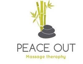 "bizzmutch tarafından Design a Logo for my company ""Peace Out"" massage therapy. için no 210"