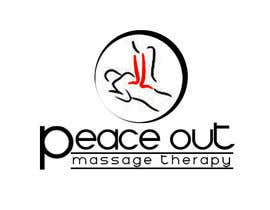 "narina2014 tarafından Design a Logo for my company ""Peace Out"" massage therapy. için no 187"
