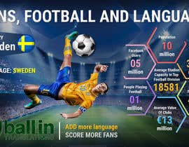 jituupwork tarafından Infographic design about football, fans and languages için no 52