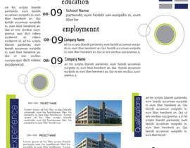 Nro 18 kilpailuun Graphic Design for Resume Template käyttäjältä jhosser