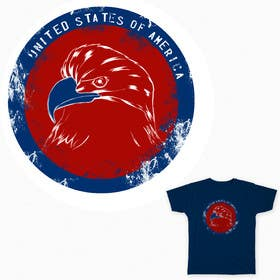 #8 for Patriotic t-shirt USA theme design by maximo20858