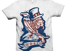 #5 for Patriotic t-shirt USA theme design by lemonpanda