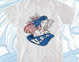 #16 for Patriotic t-shirt USA theme design af leninvallejos