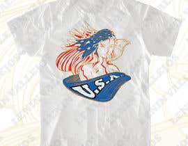 #17 for Patriotic t-shirt USA theme design af leninvallejos
