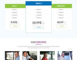 Nro 18 kilpailuun Design Website Homepage käyttäjältä webmastersud