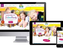 Nro 24 kilpailuun Design Website Homepage käyttäjältä webmastersud