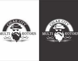 """Nro 7 kilpailuun LOGO DESIGN FOR """"CIGAR CITY MULTIROTORS"""" käyttäjältä edso0007"""