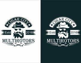 """Nro 38 kilpailuun LOGO DESIGN FOR """"CIGAR CITY MULTIROTORS"""" käyttäjältä edso0007"""