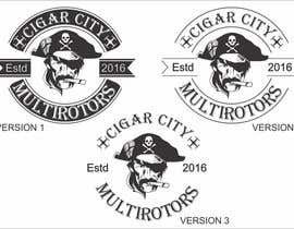 """Nro 39 kilpailuun LOGO DESIGN FOR """"CIGAR CITY MULTIROTORS"""" käyttäjältä edso0007"""