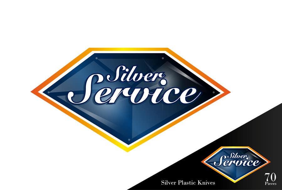 Konkurrenceindlæg #                                        36                                      for                                         Logo Design for Premium Disposable Cutlery - Silver Service