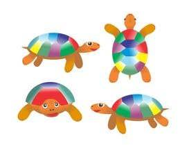 Nro 7 kilpailuun Kid friendly Turtle image käyttäjältä ridwantjandra
