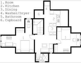 #30 для Design Apartment Plan от josereinozo