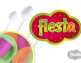 #27 para Logo Design for disposable cutlery - Fiesta por Grupof5