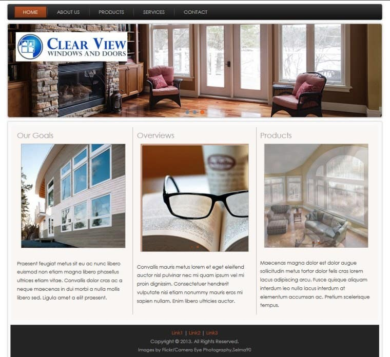 Contest Entry 4 For Office 365 Website Template