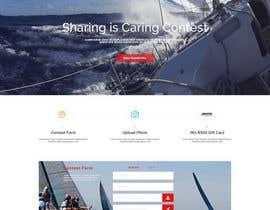 Nro 12 kilpailuun Design a Landing Page for an online Contest käyttäjältä m984nerminm
