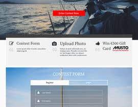 Nro 5 kilpailuun Design a Landing Page for an online Contest käyttäjältä hudha09