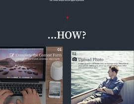 Nro 16 kilpailuun Design a Landing Page for an online Contest käyttäjältä hudha09