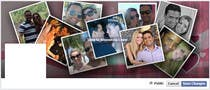 Contest Entry #39 for Design a Facebook Cover for a Couple with photos
