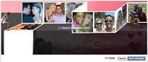 Contest Entry #52 for Design a Facebook Cover for a Couple with photos