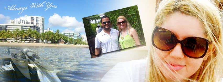 #58 for Design a Facebook Cover for a Couple with photos by job2sathishkumar
