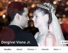 vishnuremesh tarafından Design a Facebook Cover for a Couple with photos için no 54