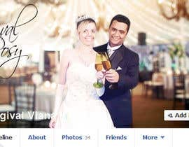 vishnuremesh tarafından Design a Facebook Cover for a Couple with photos için no 69