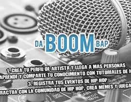 Nro 4 kilpailuun Diseñar una portada para Facebook, pagina de Hip Hop käyttäjältä jcastillovnz