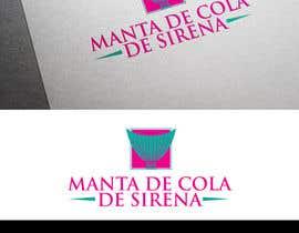 Brandwar tarafından Design a Logo for: Manta de Cola de Sirena için no 7