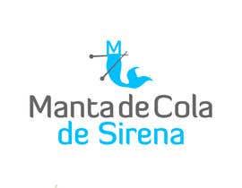 elena13vw tarafından Design a Logo for: Manta de Cola de Sirena için no 10