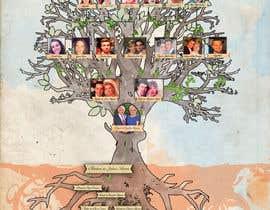 Nro 12 kilpailuun Family Tree Poster käyttäjältä sandrasreckovic