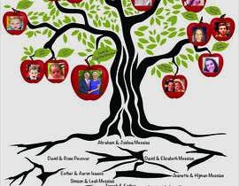 Nro 27 kilpailuun Family Tree Poster käyttäjältä bharmalcreation