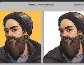 Nro 10 kilpailuun Illustrate my face as an Overwatch character käyttäjältä quyenmetal