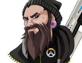 Nro 15 kilpailuun Illustrate my face as an Overwatch character käyttäjältä bulletirde