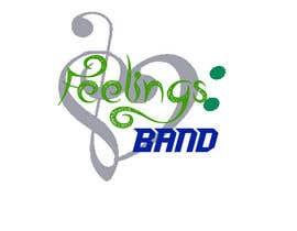 Nro 15 kilpailuun Logo - Feelings Band käyttäjältä wolverinesimon