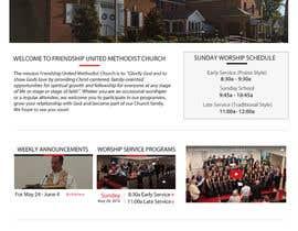 isabelamagno tarafından Design a Website Mockup for a Church için no 37