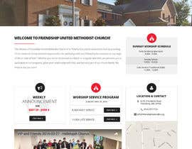 lahoretouch tarafından Design a Website Mockup for a Church için no 39