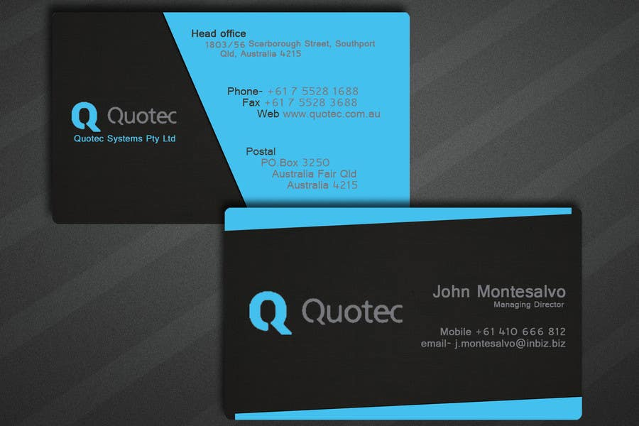 Business cards southport qld image collections card design and business cards southport qld choice image card design and card entry 71 by rishavkumar93 for jm colourmoves Images