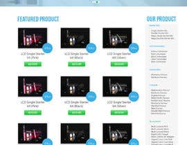 #4 for One page website design for franchise by ervanfahren