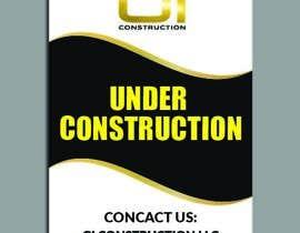 Nro 24 kilpailuun Design a Construction job site sign käyttäjältä dnoman20