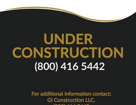 #1 for Design a Construction job site sign by creatable