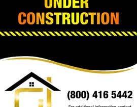 Nro 25 kilpailuun Design a Construction job site sign käyttäjältä ferisusanty