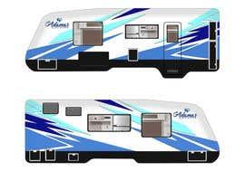 Nro 91 kilpailuun Graphic Design for RV Decals käyttäjältä koeswandi